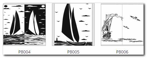пескоструйный рисунок корабль