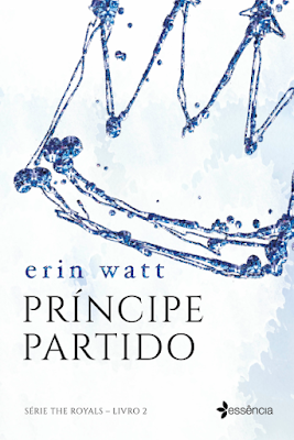 Pré-venda do livro Príncipe partido, segundo da série The Royalsa