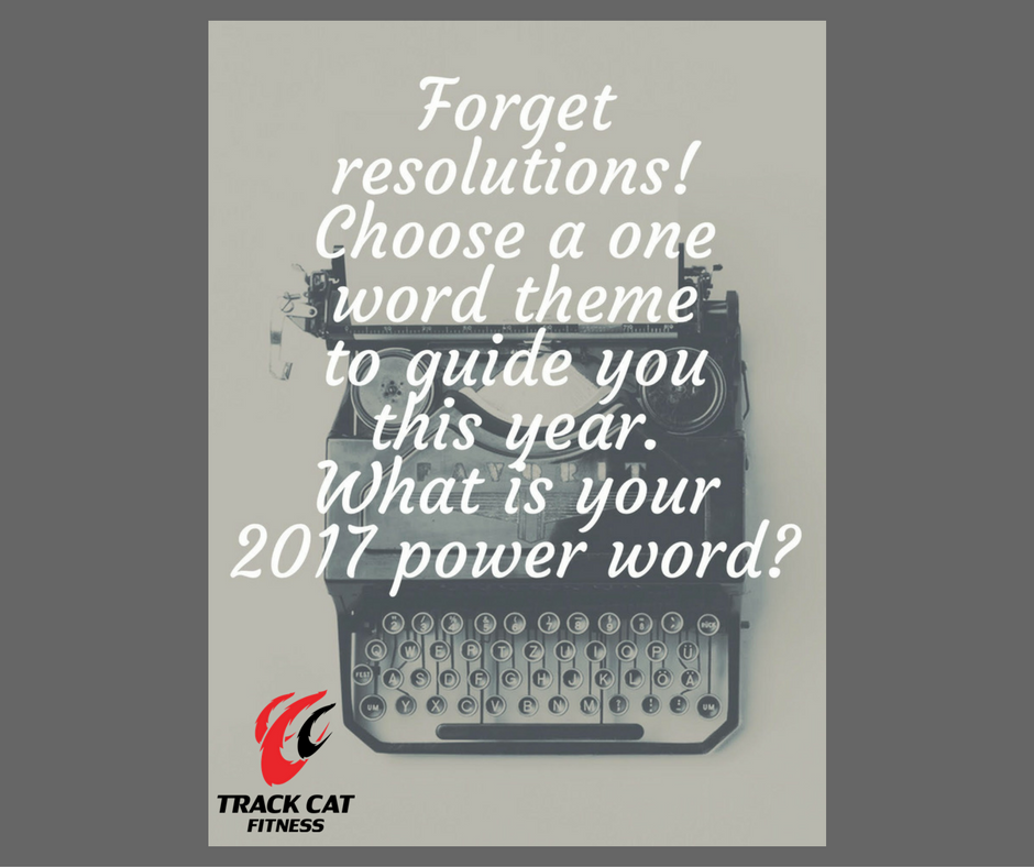select one word your power word to carry you through the entire year this is a word that matters to you and motivates you it can be your mantra