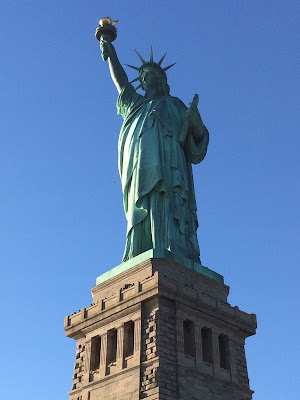 The Statue of Liberty has welcomed our ancestors for a long time.