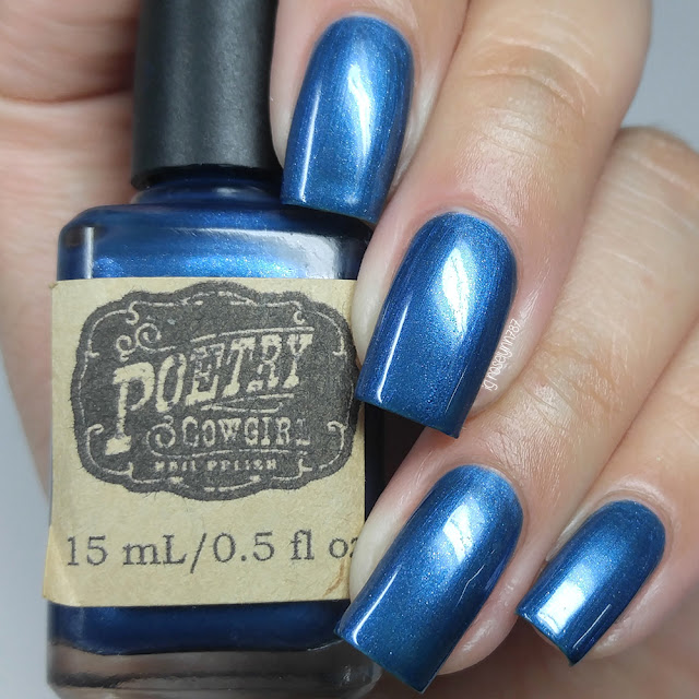 Poetry Cowgirl Nail Polish - Caroling Dress