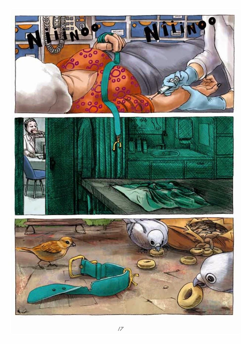 Recuerdos de Perrito de Mierda # 17 by Marta Alonso Berna, Dibbuks, March, 2014