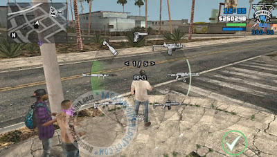 Game GTA SA Mod GTA V For Android Apk+Data Terbaru