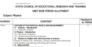 11th STD PERIODS ALLOCATIONS ALL GROUPS | 11th std Syllabus & Official Period Allotment