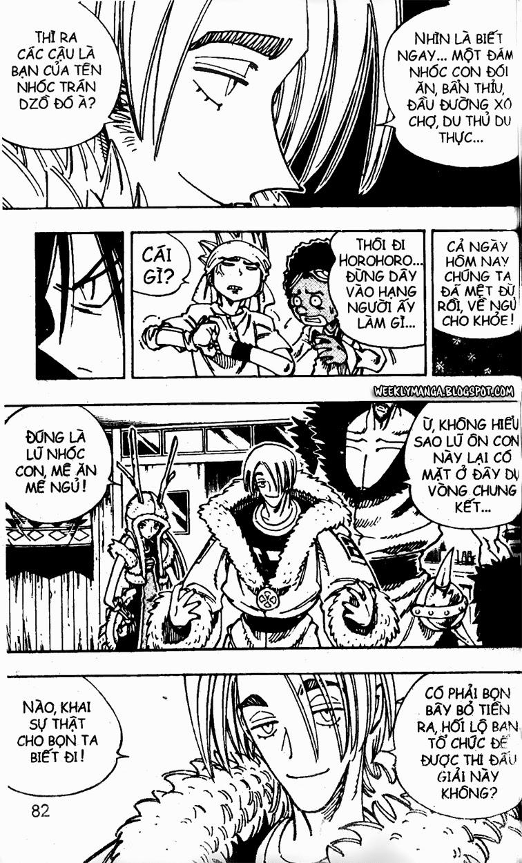 Shaman King [Vua pháp thuật] chap 127 trang 8