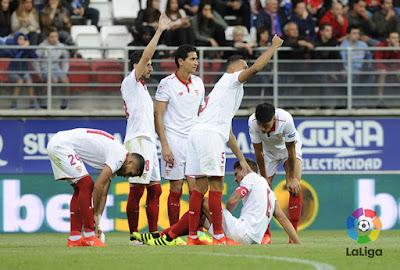 Crónica Eibar 1 - Sevilla FC 1