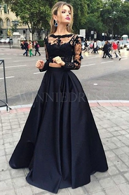 http://www.winniedress.com/black-long-sleeve-a-line-bateau-floor-length-satin-two-piece-prom-dress-wnpd0422.html