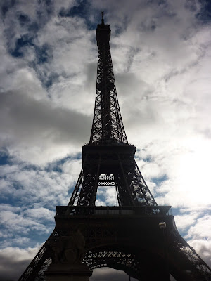 Eiffel Tower With the Clouds by Igor L.