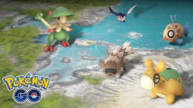 A geração 3 toma o controle do jogo mobile da Niantic.