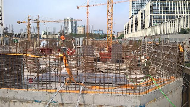 Tiến độ xây dựng chung cư An Bình City