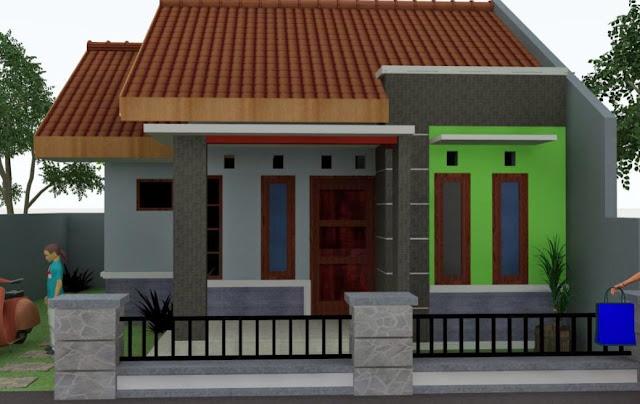rumah minimalis sangat sederhana sekali 1 lantai