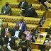 ANC MPs 15 min after Zuma started #SONA2017