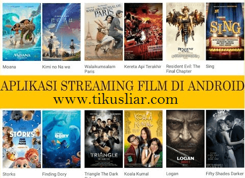 Aplikasi Streaming Film Bioskop di Android Terbaik