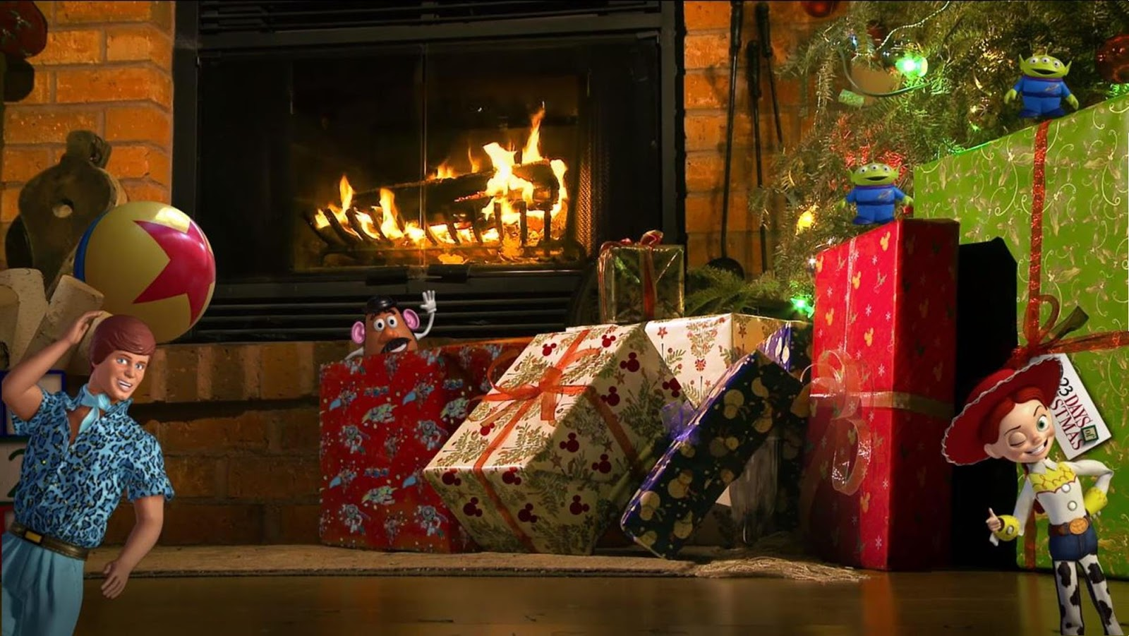 Looking For the Perfect Fireplace Video This Holiday Season