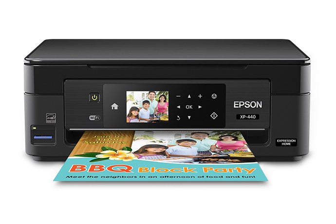 Epson XP-440 Printer Drivers and Software for Microsoft Windows and Macintosh OS