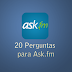 20 perguntas para você se divertir no Ask.fm
