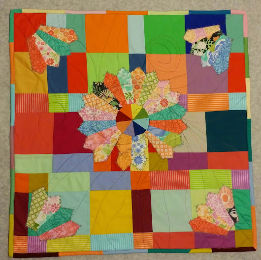 """PRIMARY CHARM"" - PROJECT QUILTING CHALLENGE 6 !"