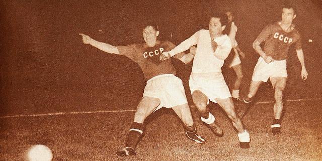 Chile y Unión Soviética en partido amistoso, 22 de noviembre de 1961