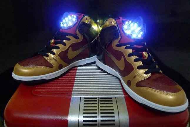 "Nike - Air Foamposite Pro ""Spider-Man""  |Iron Man Nike Foams"