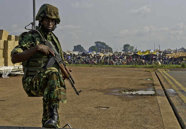 Image Attribute: Burundi soldiers arrive in Central African Republic US Army Africa, Flickr, Creative Commons