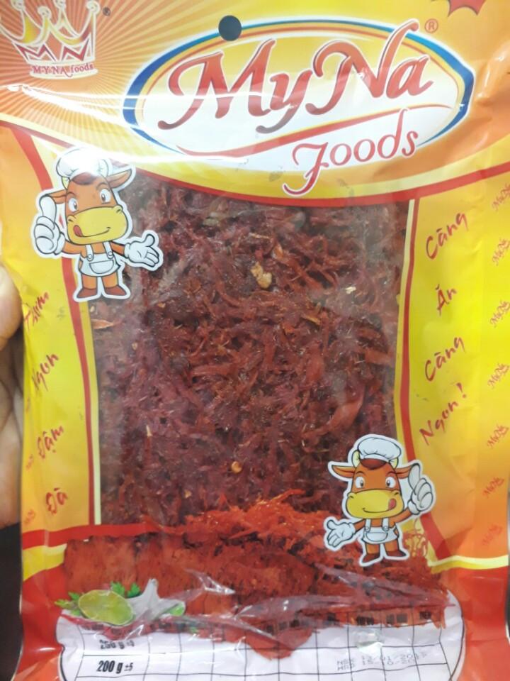 35k - Thịt sấy khô ăn liền Sợi, 250gr/ gói giá sỉ và lẻ rẻ nhất