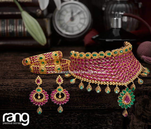 Rang Ruby Collection from Kalyan