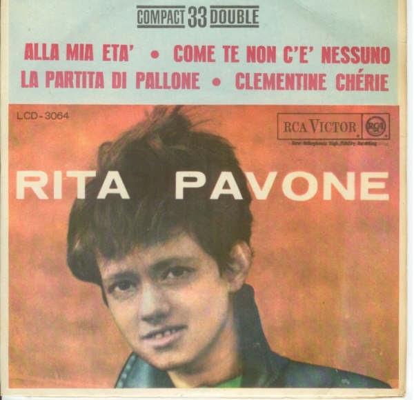 Rita Pavone Discografia Brasileira Compactos Duplos