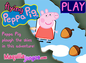 Flying Peppa Pig