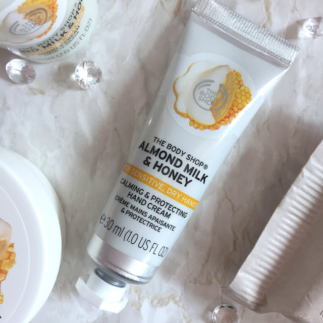 The Body Shop Almond Milk And Honey Calming & Protecting Hand Cream