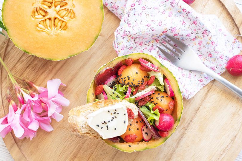 recette Salade melon