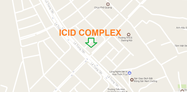 Vị trí dự án ICID Complex