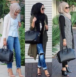 street style hijab modern
