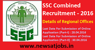 ssc+combind+recruitment+2016+details+of+regional+offices
