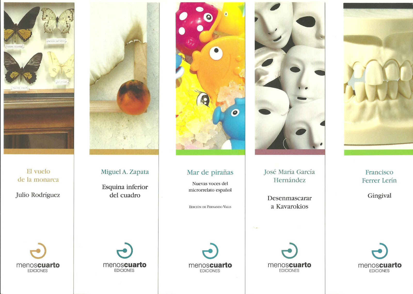 els punts de llibre: Editorial Menos Cuarto 2013