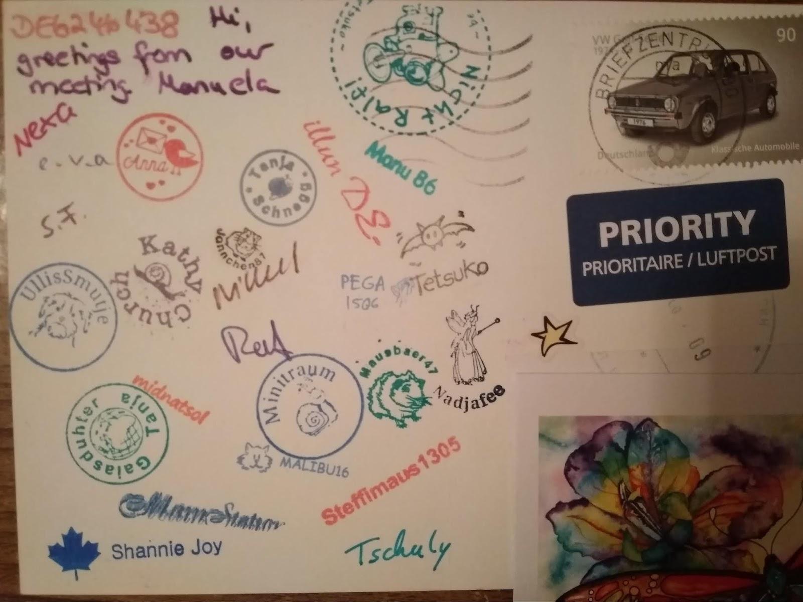 Надписями, посткроссинг обратная сторона открытки