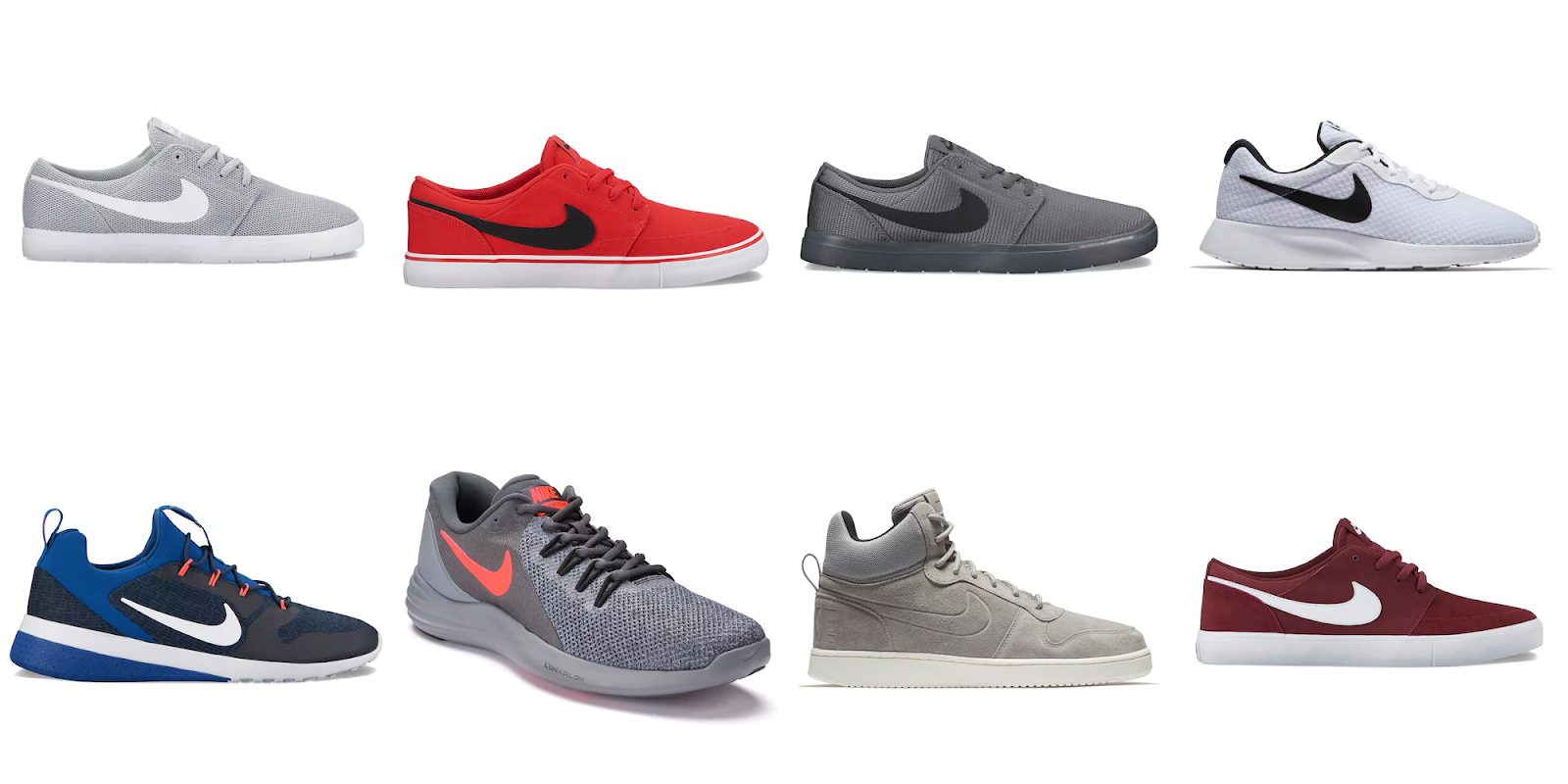 brand new b911b 96544 closeout nike lunar running sneakers 6c2ad 25752  authentic kohls 30 40 nike  mens shoes requires kohls credit card 988e5 c2721