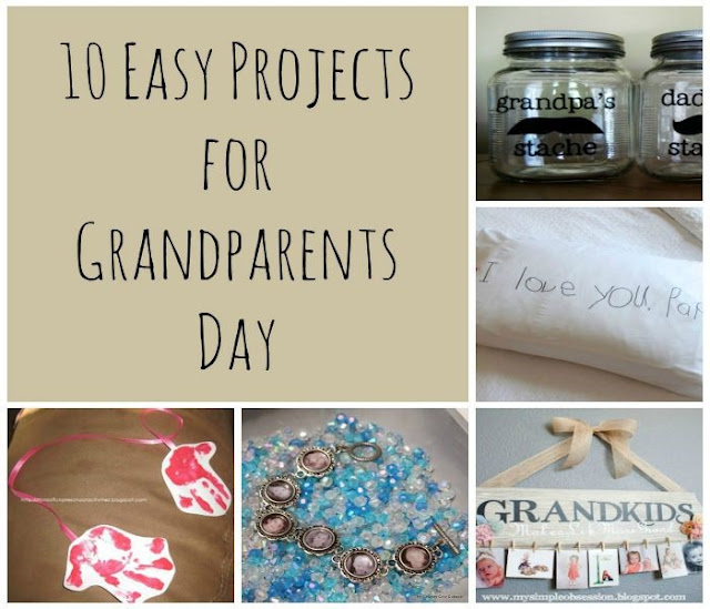 DIY Grandparents Day 2017 Gifts Ideas To Celebrarte it (***Surprise**)