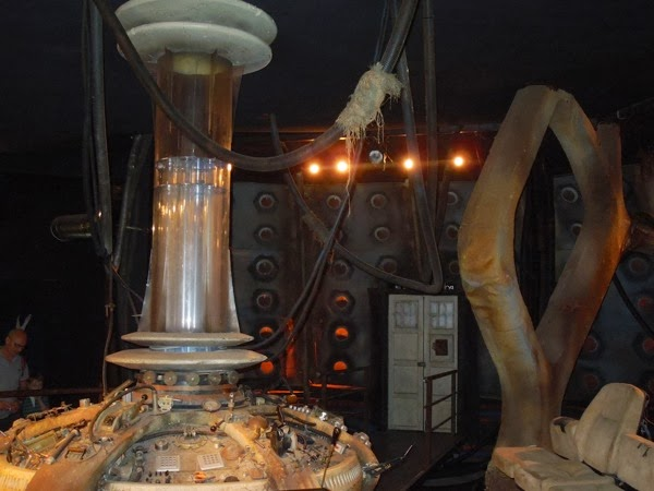 Doctor Who revival TARDIS interior