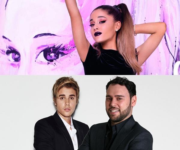 Ariana Grande despidió a su manager ¿por culpa de Justin Bieber?