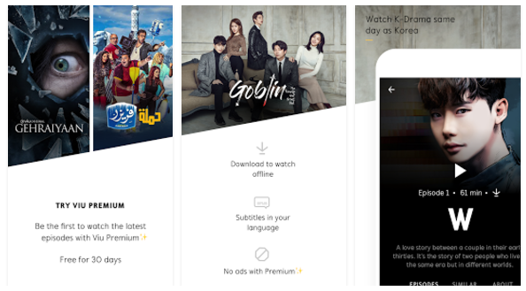 Viu - TV Shows, movies & more mobile Apps - Youth Apps