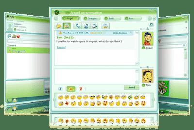 برنامج, الشات, والمحادثات, ومكالمات, الفيديو, المجانية, اى, سى, كيو, ICQ, اخر, اصدار