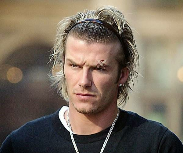 DAVID BECKHAM THROUGH THE YEARS OF A HAIRSTYLE ICON THE