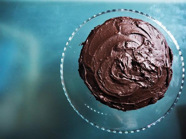 Squidgy Chocolate Fudge Cake