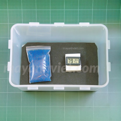 Combo hộp chống ẩm máy ảnh 8L