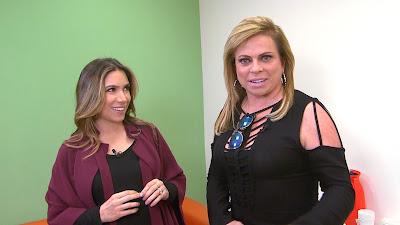 Patricia Abravanel e Christina Rocha - Crédito:Divulgação/SBT