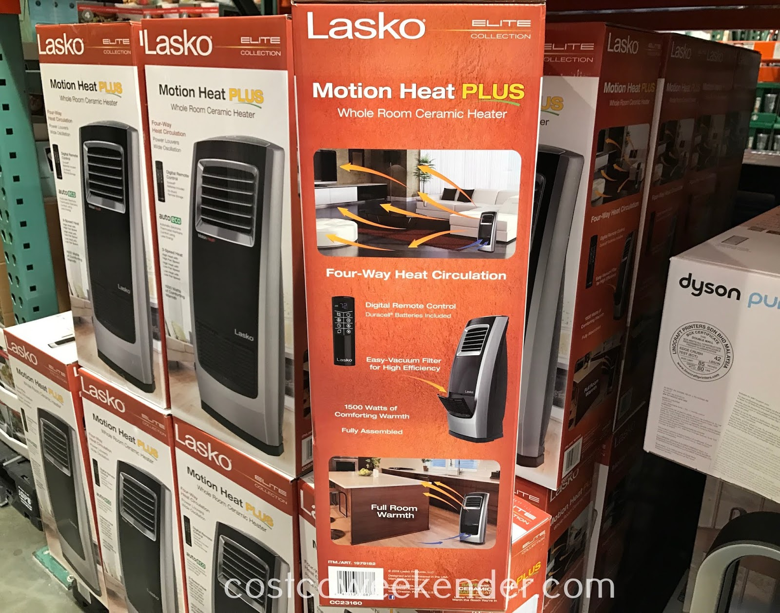 Costco 19179182 - Don't go hypothermic with the Lasko Whole Room Ceramic Heater
