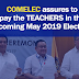 Comelec assures Teachers' Payment in the 2019 Elections