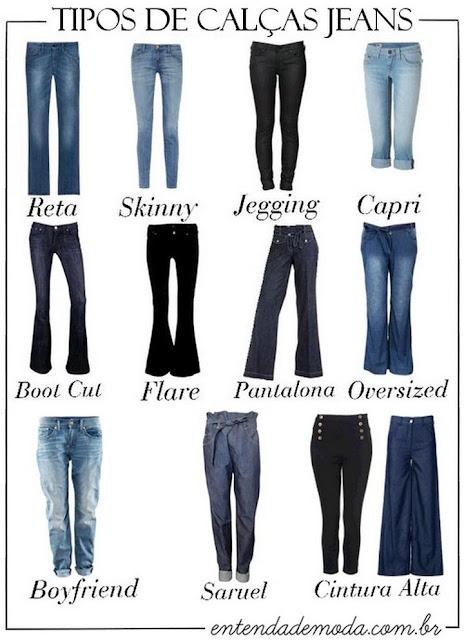 Escolha a calça jeans certa para o seu tipo de corpo
