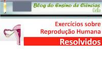 Exercícios sobre reprodução humana