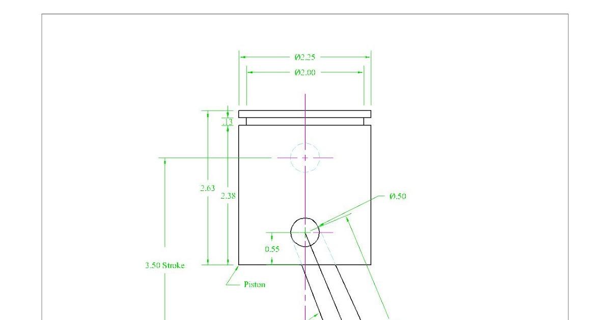 Marie Escue: Piston, Connection Rod & Crank Shaft